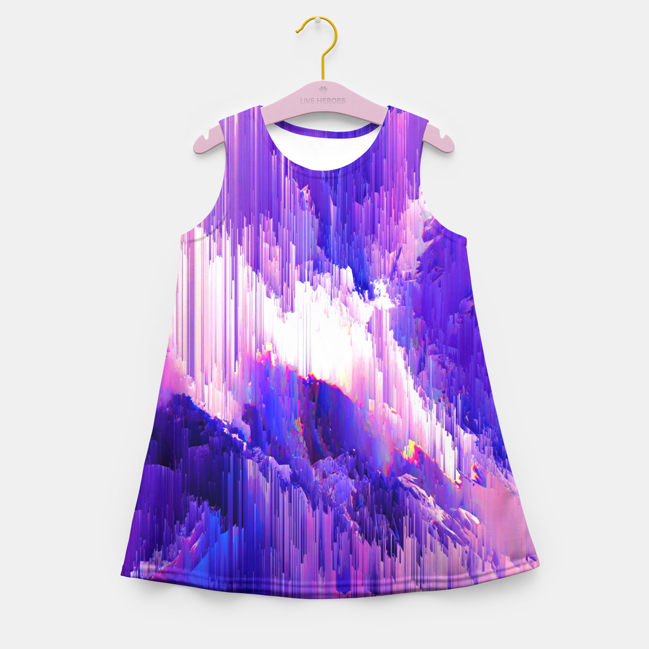 Image of All We Got Girl's Summer Dress - Live Heroes