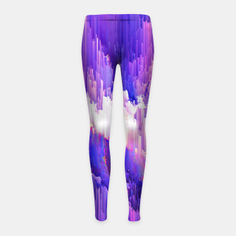 Thumbnail image of All We Got Girl's Leggings, Live Heroes