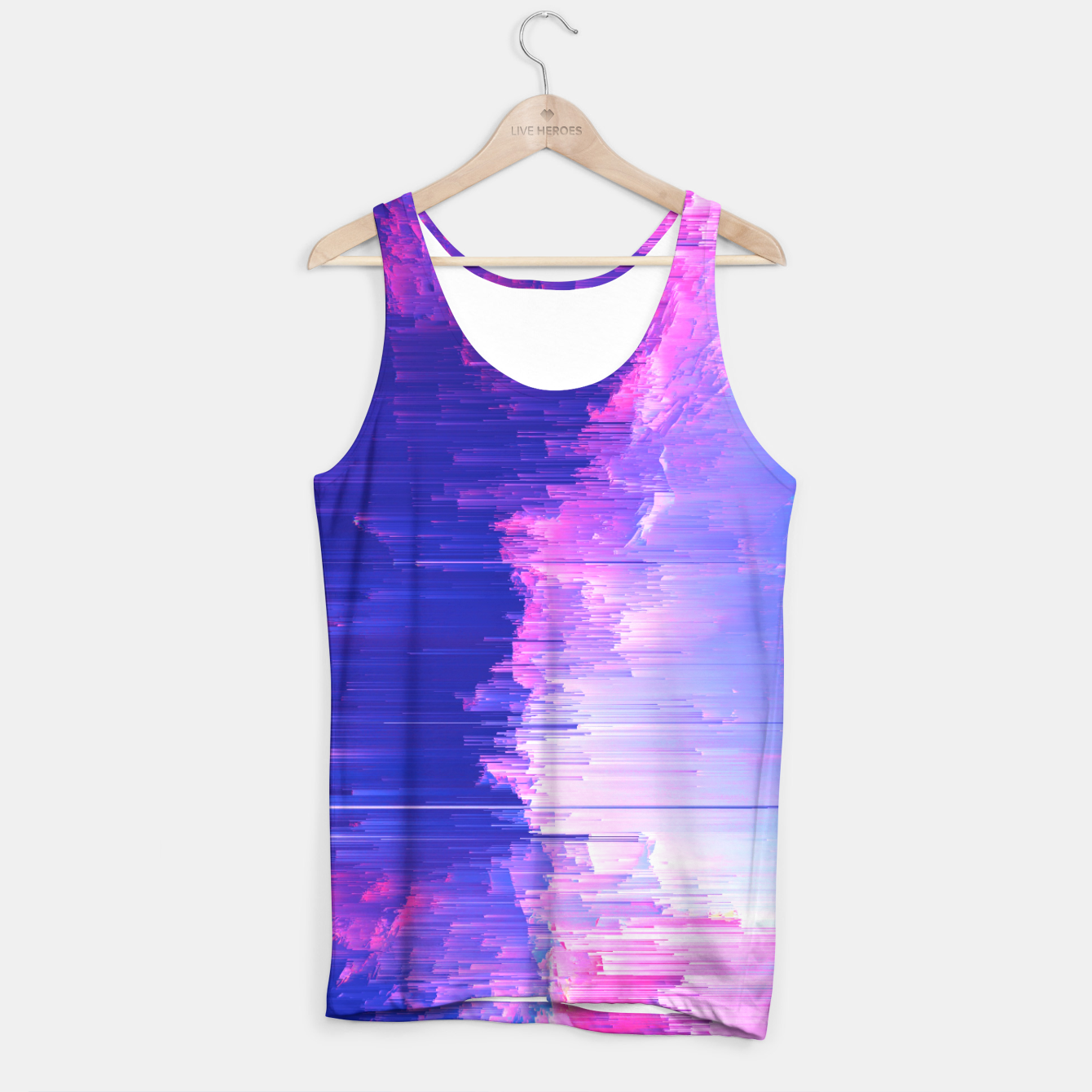 Image of Blue Print Tank Top - Live Heroes