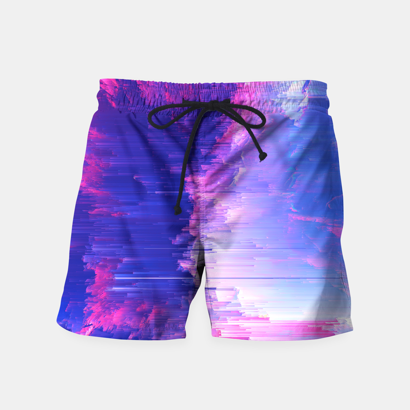 Image of Blue Print Swim Shorts - Live Heroes