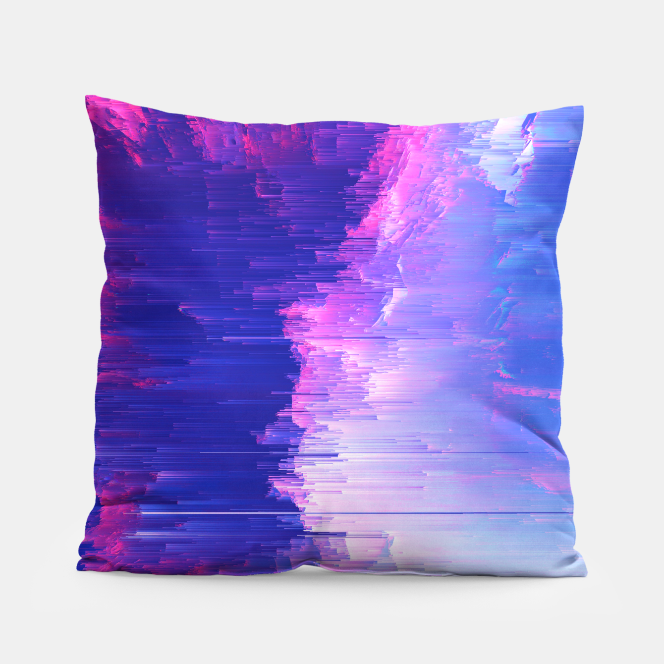 Image of Blue Print Pillow - Live Heroes