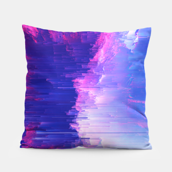 Thumbnail image of Blue Print Pillow, Live Heroes