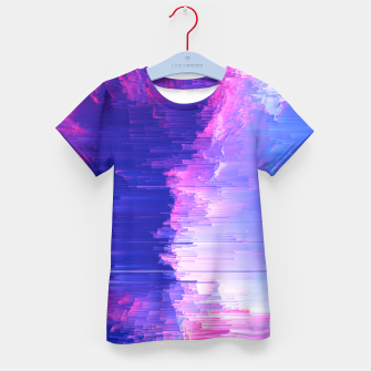 Blue Print Kid's T-shirt thumbnail image