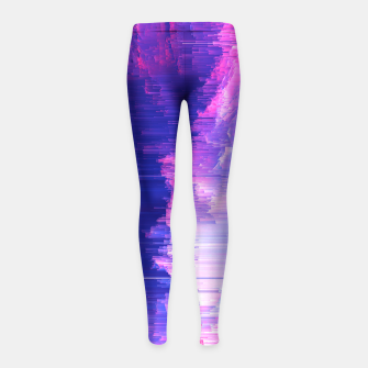Thumbnail image of Blue Print Girl's Leggings, Live Heroes