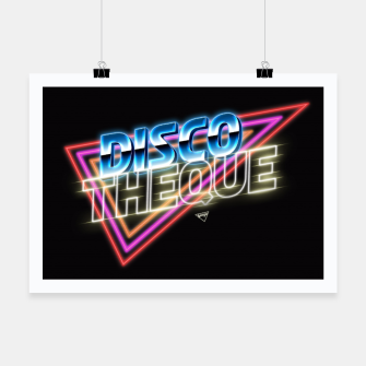 Thumbnail image of Discotheque Poster, Live Heroes