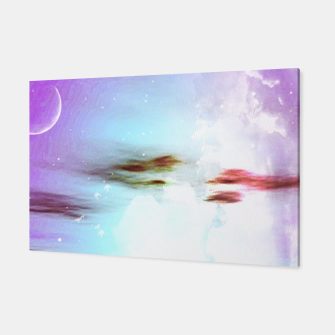 Pastel moon  Canvas thumbnail image