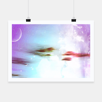 Thumbnail image of Pastel moon  Poster, Live Heroes