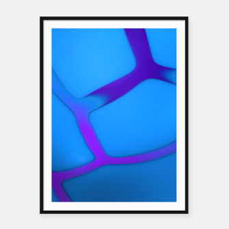 Thumbnail image of Blueberry Framed poster, Live Heroes