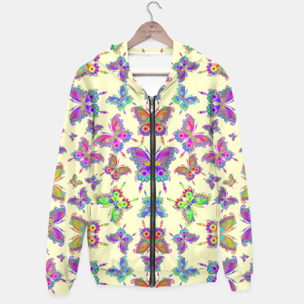 Thumbnail image of Butterfly Colorful Tattoo Style Pattern Hoodie, Live Heroes