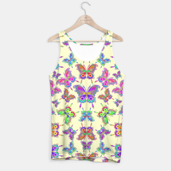 Thumbnail image of Butterfly Colorful Tattoo Style Pattern Tank Top, Live Heroes