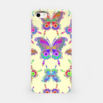 Thumbnail image of Butterfly Colorful Tattoo Style Pattern iPhone Case, Live Heroes
