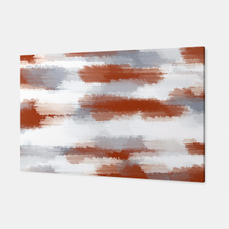 Miniatur brown and grey painting abstract background Canvas, Live Heroes
