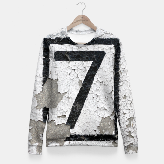 Number 7 Fitted Waist Sweater obraz miniatury