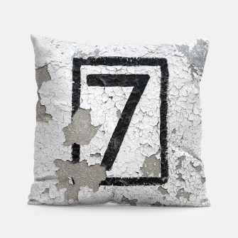Number 7 Pillow obraz miniatury