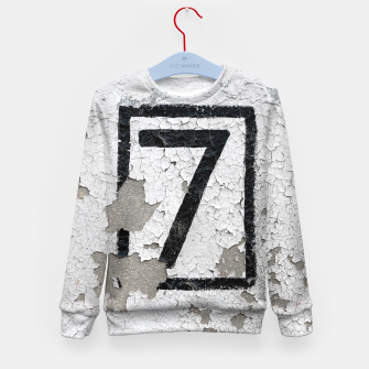 Number 7 Kid's Sweater obraz miniatury