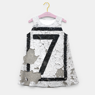 Number 7 Girl's Summer Dress obraz miniatury