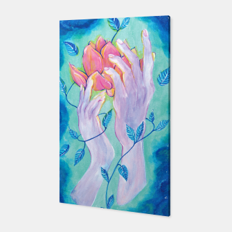 Miniatur Ghost Hands Canvas, Live Heroes