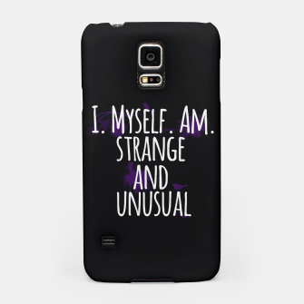Thumbnail image of Strange and Unusual Samsung Case, Live Heroes