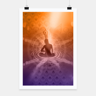 Thumbnail image of Yoga Poster, Live Heroes