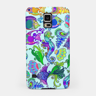 Thumbnail image of Marine Life Exotic Fishes & SeaHorses Samsung Case, Live Heroes