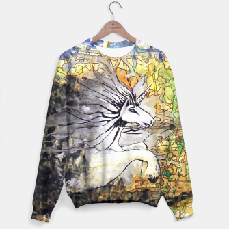 Thumbnail image of Unicorn Breakthrough  Sweater, Live Heroes