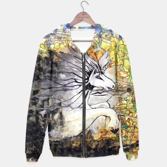 Thumbnail image of Unicorn Breakthrough  Hoodie, Live Heroes