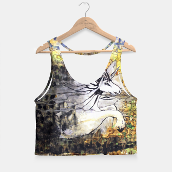 Thumbnail image of Unicorn Breakthrough  Crop Top, Live Heroes