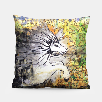 Thumbnail image of Unicorn Breakthrough  Pillow, Live Heroes