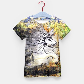 Thumbnail image of Unicorn Breakthrough  Kid's T-shirt, Live Heroes
