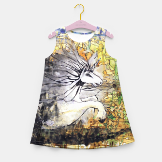 Thumbnail image of Unicorn Breakthrough  Girl's Summer Dress, Live Heroes