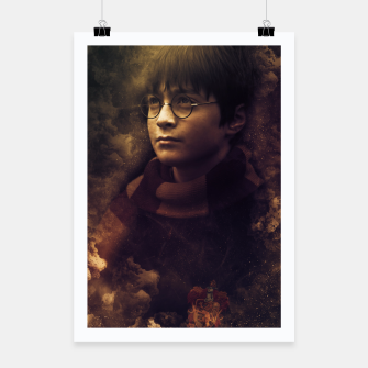 Thumbnail image of Fire Magician Poster, Live Heroes