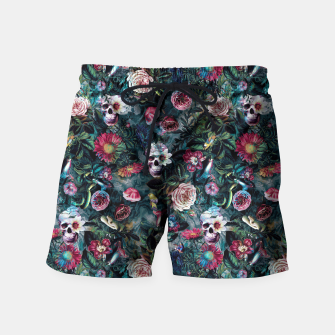 Thumbnail image of Poisonous Forest Swim Shorts, Live Heroes