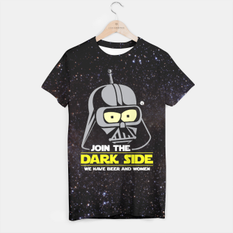 Miniaturka Star Wars Futurama - Join the Dark Side Koszulka, Live Heroes