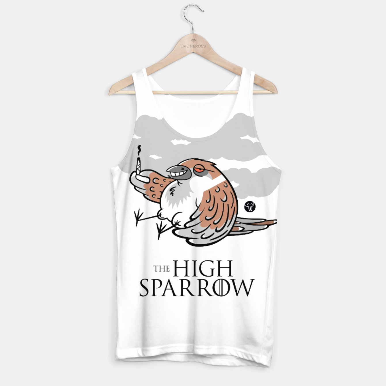 Zdjęcie Game of Thrones - The High Sparrow Tank Top - Live Heroes
