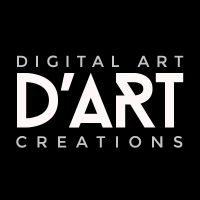 Digital Art Creations logo, Live Heroes