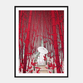 Thumbnail image of Yuki- onna Framed poster, Live Heroes