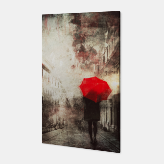 Thumbnail image of Red Umbrella Canvas, Live Heroes