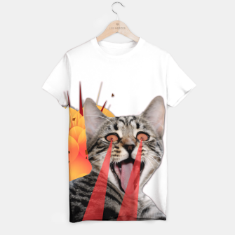 Thumbnail image of CAT ATTACK T-shirt, Live Heroes
