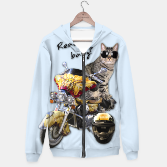 Thumbnail image of COOL CAT Hoodie, Live Heroes