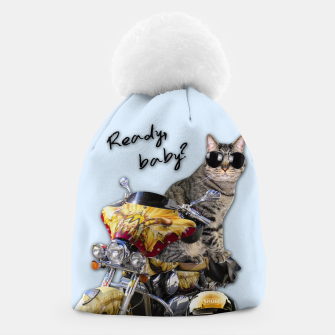 Thumbnail image of COOL CAT Beanie, Live Heroes