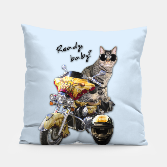 Thumbnail image of COOL CAT Pillow, Live Heroes