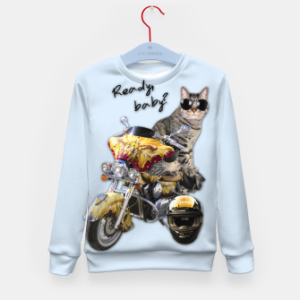 Thumbnail image of COOL CAT Kid's Sweater, Live Heroes