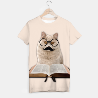 Thumbnail image of INTELIGENT CAT T-shirt, Live Heroes