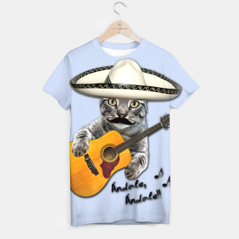 Thumbnail image of MEXICAN CAT T-shirt, Live Heroes