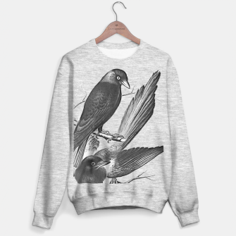 Miniatur Vintage magpie and jack daw Sweater regular, Live Heroes