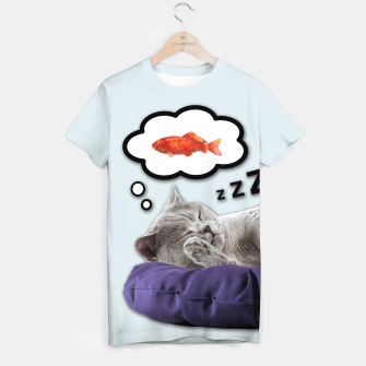 Thumbnail image of SLEEPY CAT T-shirt, Live Heroes