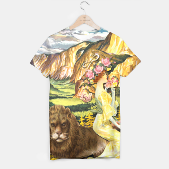 Thumbnail image of THE STRENGHT TAROT CARD T-shirt, Live Heroes