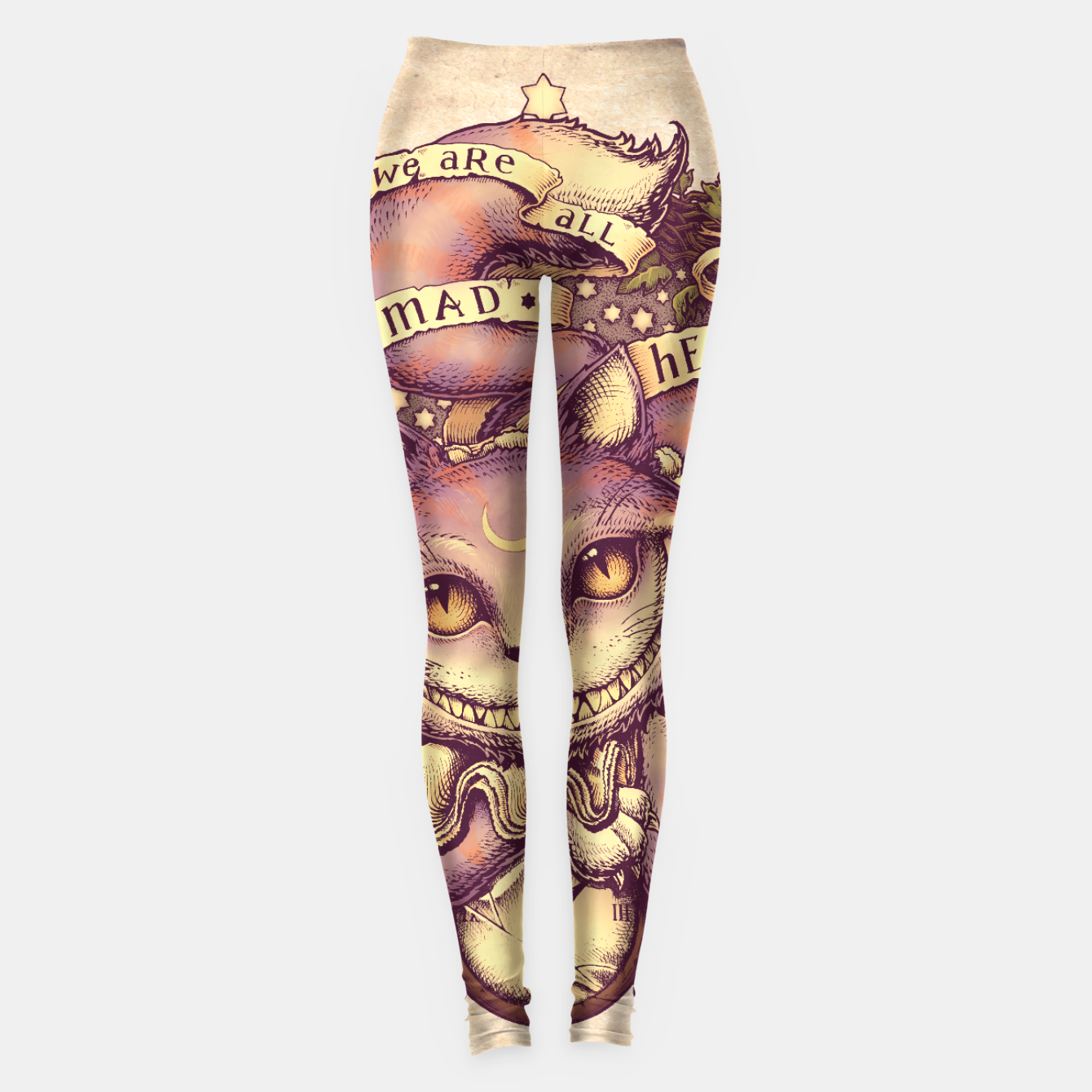 Image of Cheshire Cat Leggings - Live Heroes
