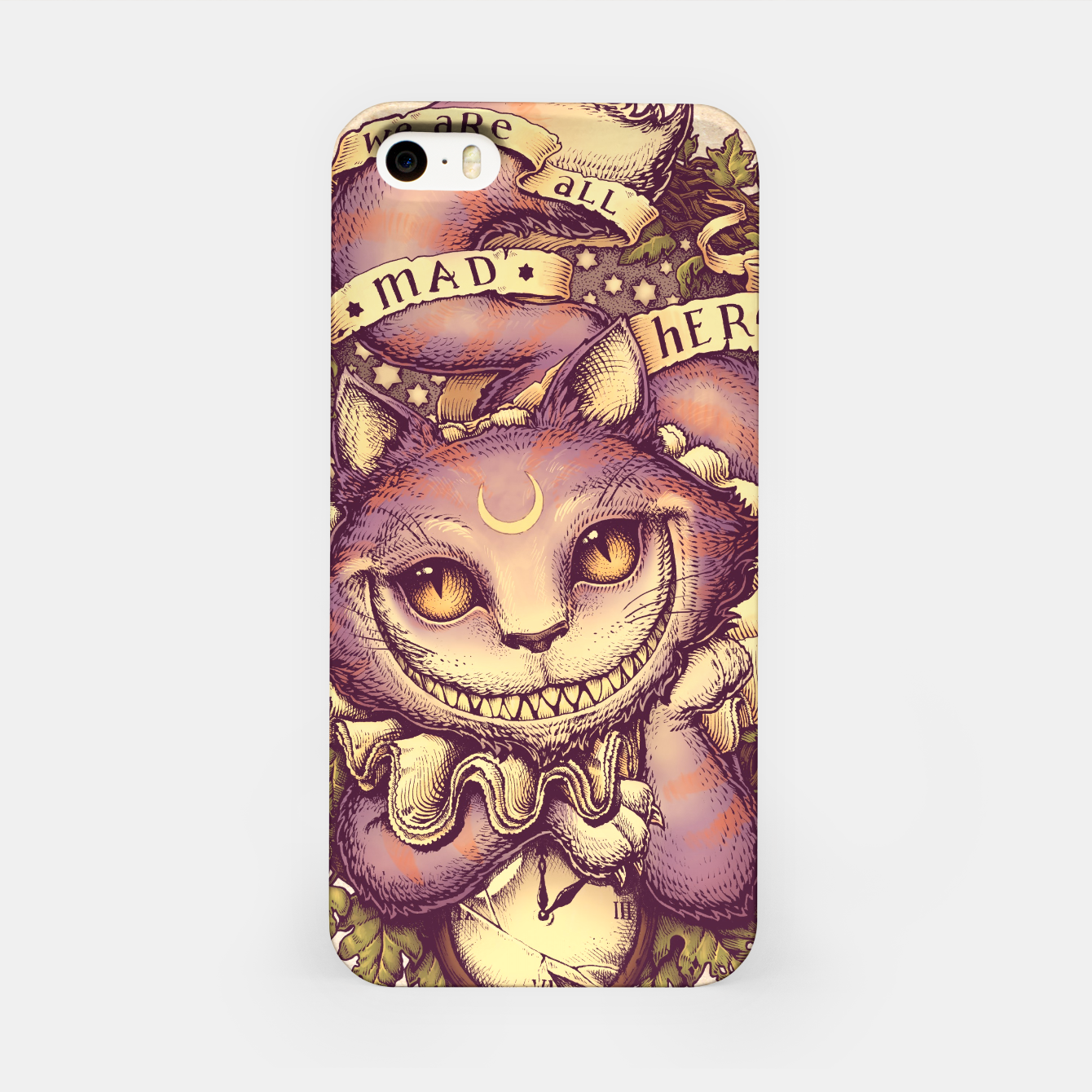 Image of Cheshire Cat Carcasa por Iphone - Live Heroes
