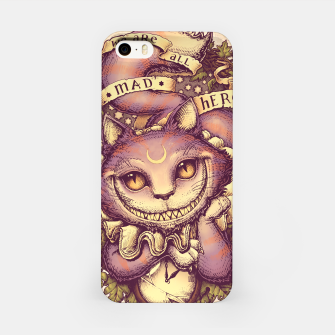 Thumbnail image of Cheshire Cat Carcasa por Iphone, Live Heroes